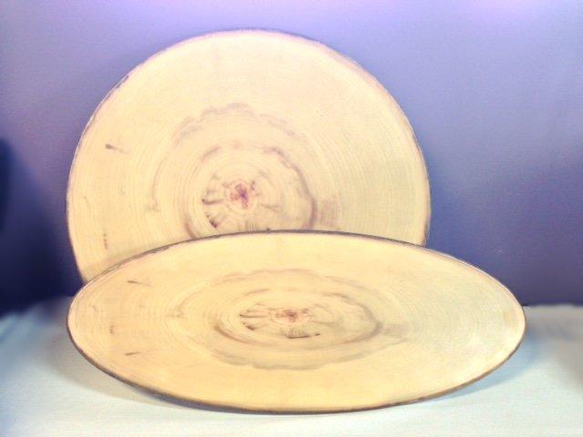 Rustic Wood Platters