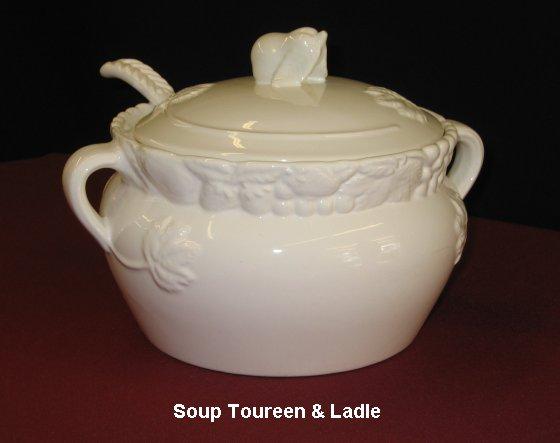 Soup Toureen & Ladle